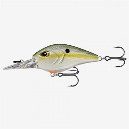 "Olive Shad 2 3//4/"" 3//4 oz 13 Fishing Troll Hunter 70MM 15FT"