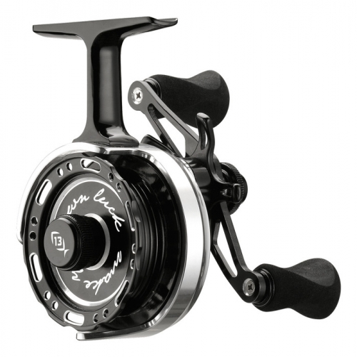 13 fishing black betty 6061 lh inline reel jagged tooth tackle for 13 fishing ice reel