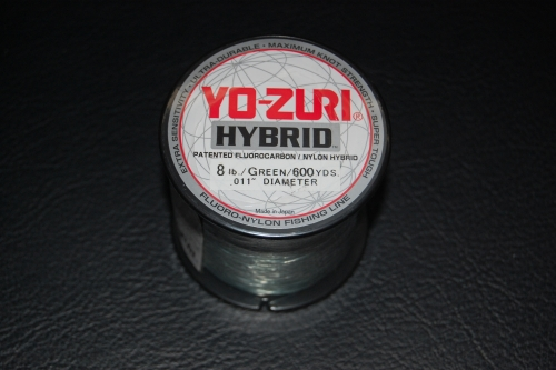 Yo zuri hybrid 8 lb test 600 yard camo green for Yo zuri fishing line