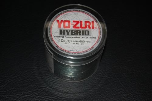 Yo zuri hybrid 10 lb test 600 yard camo green for Yo zuri fishing line