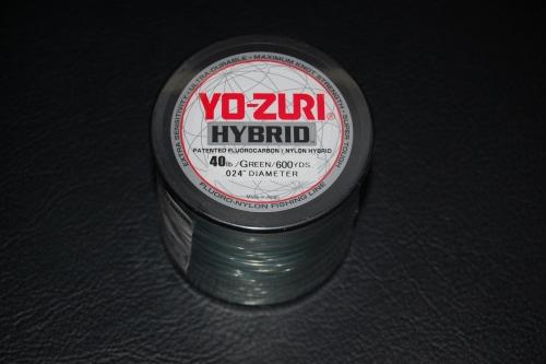 Yo zuri hybrid 40 lb test 600 yard camo green for Fishing yo yo