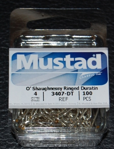 Mustad 3407 O/'Shaughnessy Size 14//0 Singles