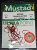Mustad 33862NP-RB Ultra Point Red Slow Death Hooks - Size 6