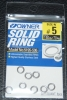 Owner Stainless Steel Solid Rings - Size 5 - 120lb Test