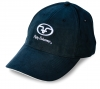 Flying Fisherman - Black Microfiber Logo Cap