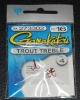 Gamakatsu Trout Treble Hook Red - Size 16