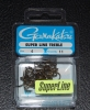 Gamakatsu Superline 2x Round Bend Treble Hooks - Size 4