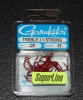 Gamakatsu 2x Strong Round Bend Red Treble Hooks - Size 2