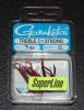 Gamakatsu 2x Strong Round Bend Red Treble Hooks - Size 1/0