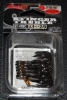 Owner Stinger 41 Treble Hooks Black Chrome - Size 2/0