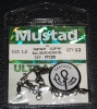 Mustad FASTACH Clip with Ball Bearing Swivel - Size 1.2