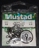 Mustad FASTACH Clip with Ball Bearing Swivel - Size 2.3