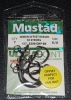 Mustad R39942NP-BN Ringed Demon 3X Perfect Offset Circle Hooks - Size 6/0
