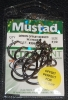 Mustad R39942NP-BN Ringed Demon 3X Perfect Offset Circle Hooks - Size 7/0