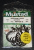 Mustad R39942NP-BN Ringed Demon 3X Perfect Offset Circle Hooks - Size 8/0