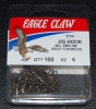 Eagle Claw 570 90 Degree Jig Hooks - Size 6