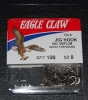 Eagle Claw 570 90 Degree Jig Hooks - Size 8