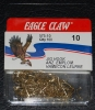 Eagle Claw 575 90 Degree Jig Hooks - Size 10