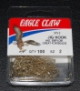 Eagle Claw 575 90 Degree Jig Hooks - Size 2