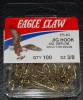 Eagle Claw 575 90 Degree Jig Hooks - Size 3/0