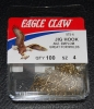 Eagle Claw 575 90 Degree Jig Hooks - Size 4