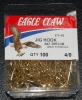 Eagle Claw 575 90 Degree Jig Hooks - Size 4/0