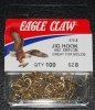 Eagle Claw 575 90 Degree Jig Hooks - Size 8