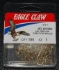 Eagle Claw 575 90 Degree Jig Hooks - Size 1
