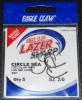 Eagle Claw Lazer Sharp L2002EL Light Wire Circle Sea Hooks - Size 2/0
