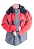 Striker Ice Predator Jacket Gray/Red XL - Extra Large