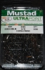 Mustad 32833BLN or 32833NP-BN Ultra Point Size 4/0 Two Extra Strong 90 degree Jig Hooks Pack of 100