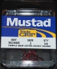 Mustad 36246-RB Red Triple Grip Treble Hooks - Size 2