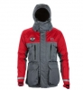 Striker Ice Hardwater Jacket Gray/Red XL - Extra Large