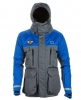 Striker Ice Hardwater Jacket Gray/Blue L - Large
