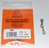 Sampo Solid Rings and Scissor Snaps Nickel - Size 4 - 80lb Test