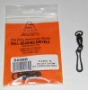 Sampo Solid Rings and Scissor Snaps Black - Size 6 - 150lb Test