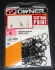 Owner 5317 60° Round Bend Wide Gap Jig Hooks - Size 4