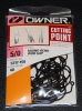 Owner 5317 60° Round Bend Wide Gap Jig Hooks - Size 5/0