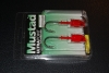 Mustad BUH120 Bullet Jig Head - 1 1/2 oz - 7/0 Hook - Red UV