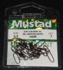 Mustad STAY-LOCK SNAP WITH BALL BEARING SWIVEL - Size 3.3