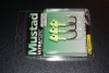 Mustad SD824 Shad Darter Jig Head - 1/4 oz - 3/0 Hook - Glow Green UV
