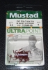 Mustad TG76NP-RB Red KVD Elite Triple Grip Treble Hooks - Size 8