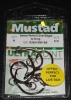 Mustad R39943NP-BN Ringed Demon 4X Perfect Offset Circle Hooks - Size 5/0