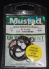 Mustad R39943NP-BN Ringed Demon 4X Perfect Offset Circle Hooks - Size 6/0