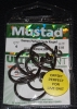 Mustad R39943NP-BN Ringed Demon 4X Perfect Offset Circle Hooks - Size 7/0