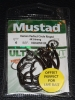 Mustad R39943NP-BN Ringed Demon 4X Perfect Offset Circle Hooks - Size 8/0