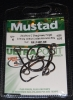 Mustad R9174NP-BN Ringed Live Bait Hooks - Size 4/0