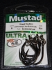Mustad R10814NP-BN Ringed Hoodlum 5X Strong Live Bait Hooks - Size 8/0