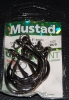 Mustad R10814NP-BN Ringed Hoodlum 5X Strong Live Bait Hooks - Size 10/0