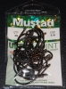 Mustad 9174NP-BN O'Shaughnessy Live Bait Hooks - Size 7/0